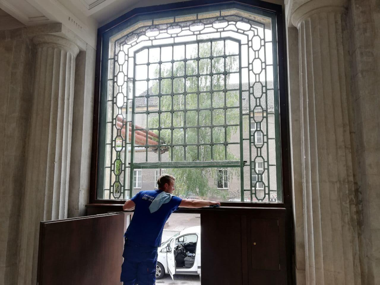 Klassische Glasreinigung Berlin
